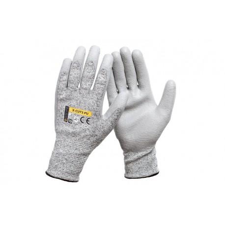 Rękawice ochronne antyprzecięciowe X-CUT5 PU - 12par