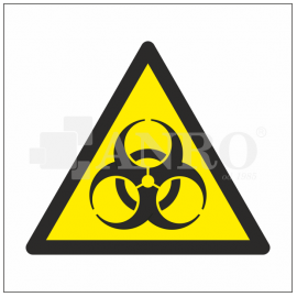 Ostrzeżenie przed skażeniem biologicznym 100x100