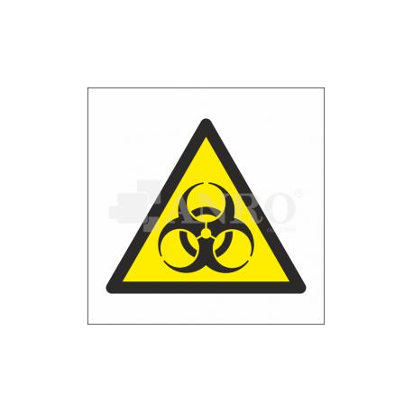 Ostrzeżenie przed skażeniem biologicznym 200x200