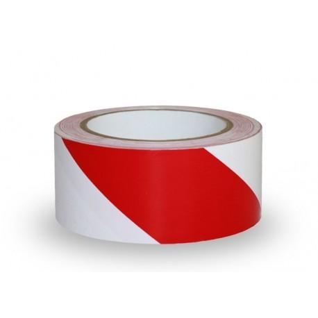 Taśma samoprzylepna odblaskowa biało-czerwona 5cm