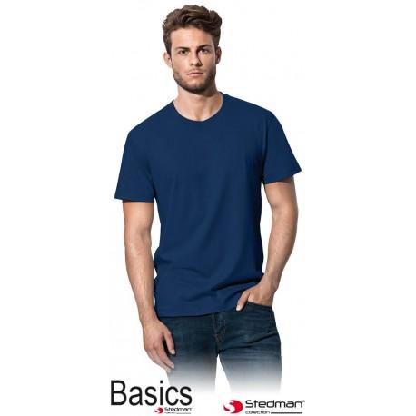 T-shirt niebieski Stedman 2000