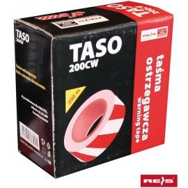 Taśma ostrzegawcza TASO 200 metrów w pudełku
