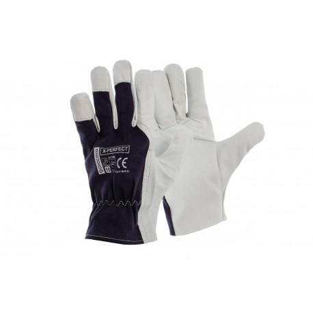 Rękawice ochronne skórzane X-PERFECT