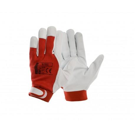 Rękawice ochronne skórzane X-TEC