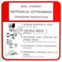 Instrukcja obsługi hydrantu wewnętrznego 100x100