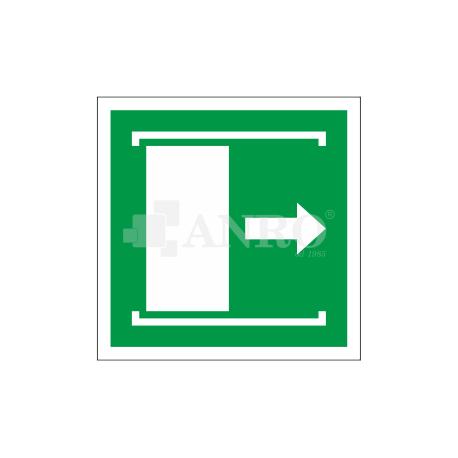 Drzwi przesuwane (w prawo, żeby otworzyć) 150x150