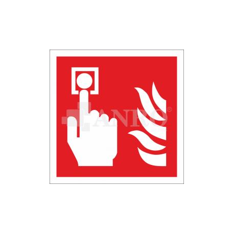 Alarm pożarowy 100x100