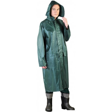 Płaszcz ochronny przeciwdeszczowy PPNP zielony