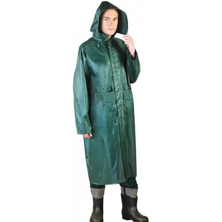Płaszcz ochronny przeciwdeszczowy PPDPU zielony