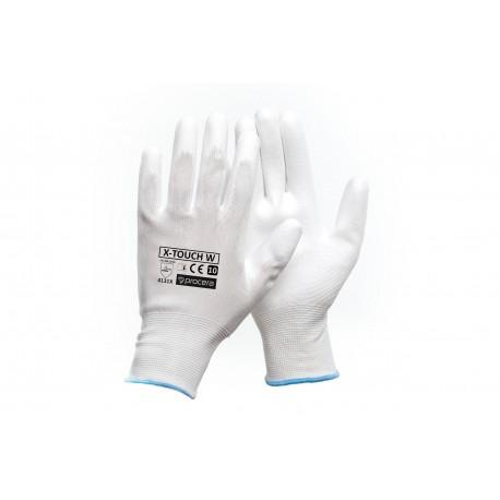 Rękawice ochronne powlekane X-TOUCH WHITE