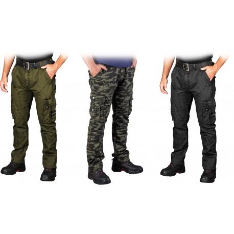 Spodnie ochronne typu bojówki SPV-COMBAT zielone