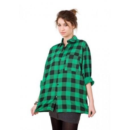 Koszula flanelowa zielona