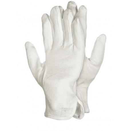 Rękawice ochronne bawełniane z nakropieniem RMICRON