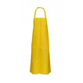 Fartuch przedni z klapą żółty