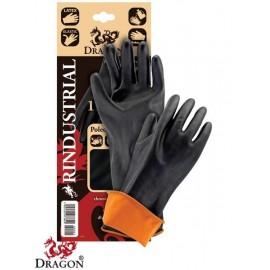 Rękawice ochronne gumowe RINDUSTRIAL 45 cm