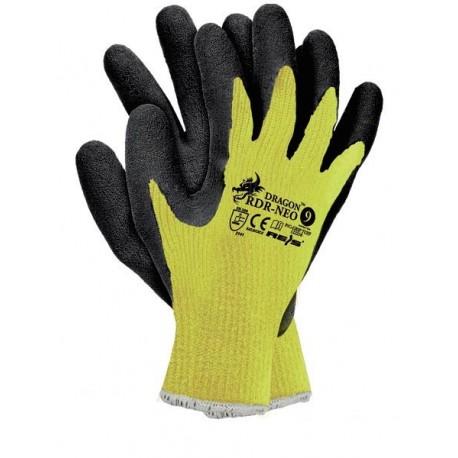Rękawice ochronne RDR - NEO żółte