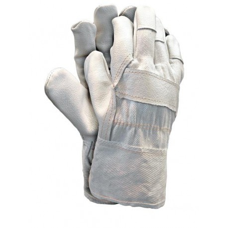 Rękawice ochronne wzmacniane skórą RLCJ