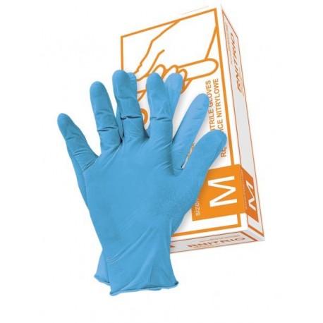 Rękawice nitrylowe RNITRIO 100 szt.
