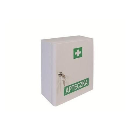 Przemysłowa apteczka pierwszej pomocy VERA1 13164 PLUS w szafce metalowej