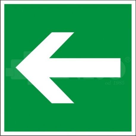 Kierunek drogi ewakuacyjnej 150x150