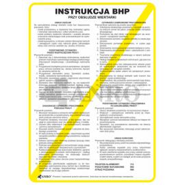 Instrukcja BHP przy obsłudze wiertarki