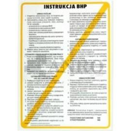 Instrukcja BHP na stanowisku szlifierza