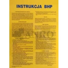 Instrukcja BHP na stanowisku blacharza - lakiernika samochodowego