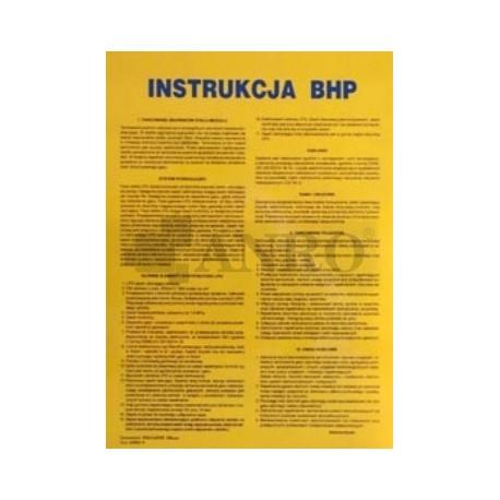 Instrukcja BHP na stanowisku galwanizera