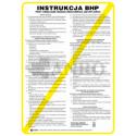 Instrukcja BHP przy obsłudze wózka widłowego (sztaplarki)