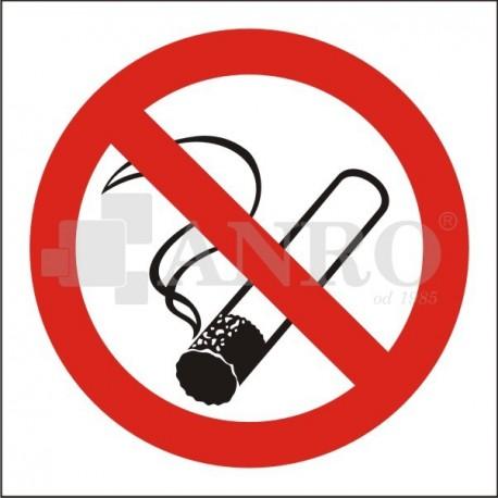 Palenie tytoniu zabronione 200x200
