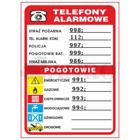 Telefony alarmowe 210x150