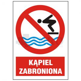 Kąpiel zabroniona 220x300