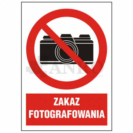 Zakaz fotografowania 220x300