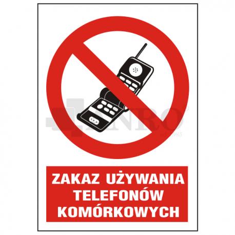 Zakaz używania telefonów komórkowych 220x300